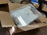 Nueva bandeja de servicio de acrílico con manijas de alta calidad