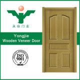 Porte de placage de Yongkang Yongjie pour la chambre à coucher de salle de bains