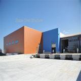 Edificio prefabricado porta de la estructura de acero de la luz del marco