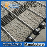 Banda transportadora de cadena del acoplamiento del acero inoxidable de la banda transportadora del fabricante