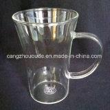 Taza a prueba de calor razonable del vidrio de Borosilicate