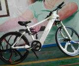 Vélo électrique de montagne de magnésium avec la batterie cachée de bâti