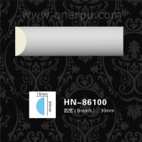 Hn86100を形成するPUの天井の装飾ポリウレタンコーニス