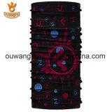 Heißes Verkaufs-Zoll Microfiber Polyester-magischer Stutzen-Gefäßbandana-Schal 100%
