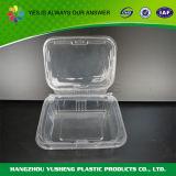 De plástico transparente Cookies compartimiento de alimentos envase de la caja