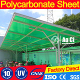 10mm Twin-Wall Vigin 100% de los paneles de techos de materiales de Bayer