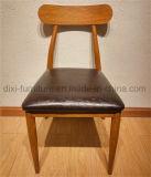 Nordische Art-moderne einfache Freizeit-lederner speisender Stuhl