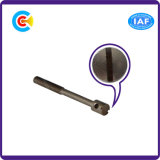 Гб/DIN/JIS/ANSI/Stainless-Steel Carbon-Steel корончатой сжать уплотнение штока винт для строительства железной дороги