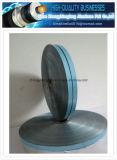 自己接着単一の側面の青いカラーはアルミホイルテープ(AL-PET) Alマイラーテープを薄板にした