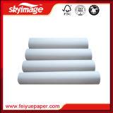 90GSM 17 '' *100m jeûnent papier de transfert sec de sublimation de teinture pour l'impression de tissus