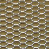 アルミニウム材料によって拡大される金属の網