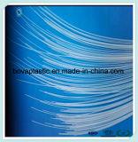 Tubo disponible médico del plástico de la lubricación del HDPE de encargo de la insignia