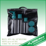 5PCS de kosmetische Plastic Reeks van Botlle van de Reis