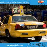 P5 택시 광고를 위한 최고 옥외 풀 컬러 LED 영상 표시