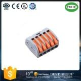 Kompakter Verbinder5 Pin-weiblicher allgemeinhinstoss-passender Verbinder