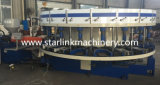 Starlink/Xingzhong Full-Automatic einzelne gezahnte Rohrschuh-Einspritzung-Maschine der Farben-PVC/TPR