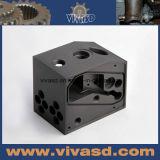 Precisie CNC die Producten van de Kwaliteit van Hight van Delen Delrin van de Douane de Zwarte machinaal bewerken