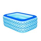 piscina gonfiabile di 160cm con la parte inferiore della bolla