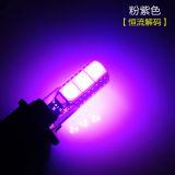 LED T10 5050 Wedge 5 SMD Chip 12V Lumière de porte de voiture Lampe de plaque d'immatriculation Feu arrière Lumière de lecture automatique / Type de lampe 194/168 W5w