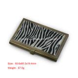 Cassa di scheda di nome del metallo dei regali di promozione con il marchio personalizzato