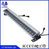 Lâmpada de parede ao ar livre impermeável do diodo emissor de luz do diodo emissor de luz do IP 65 12W 18W 36W RGB