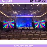 Afficheur LED de location de performance visuelle portative de l'étape P4.81 pour la publicité extérieure d'intérieur