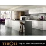 Disegno di legno lucido moderno Tivo-0188h di Cusotm della mobilia dell'armadio da cucina di Tivoli 2017