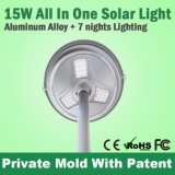 Tout en un 15W Solar Garden Light Home Light Solar Spot Light