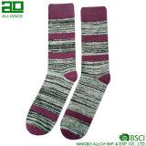 Heißer Verkaufs-Großverkauf gestrickte Mann-Socken
