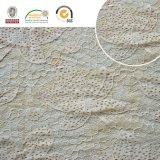 Cordón de Polyster del derretimiento de la suposición del recorte del poliester de la tela del cordón del bordado de la alta calidad 017 para la ropa y las materias textiles caseras Ln10048