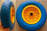4.00-8 PU-Polyurethan-Rad mit Plastikspeiche