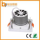 Cuadrado de aluminio Shell COB luz 15W Iluminación de techo 85-265V LED Spot lámpara