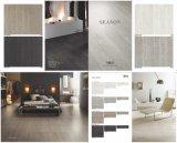 Pavimentazione del nuovo cemento italiano di disegno e mattonelle di legno della parete (SN01)