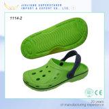 Entraves occasionnelles populaires de jardin d'EVA de plage pour les chaussures unisexes