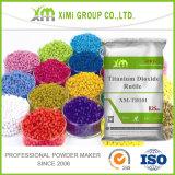 Dióxido Titanium TiO2 del pigmento blanco excelente del lustre para el plástico