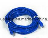 UTP CAT6 RJ45 Cable azul/Cable de ordenador/ Cable de datos Cable de comunicación///Conector de cable de audio