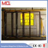 Portello di vetro del patio di Bifolding di profilo di alluminio rivestito della polvere da vendere