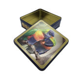 Fábrica por atacado da caixa do empacotamento de alimento do bolinho do estanho de Buiscuit diretamente