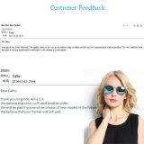 Óculos de sol de design novo com Ce FDA