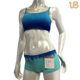 虫害カラースポーツの下着は女性のためにセットした