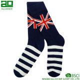 Bunte personifizierte Streifen-Mann-Socken