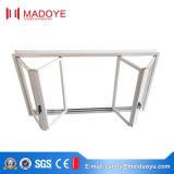 Finestra di vetro piegante della Bi di alluminio