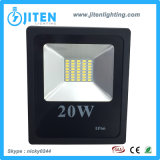 Éclairage extérieur ultra mince IP65 de lumière de projecteur/inondation de DEL