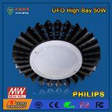 Appareil d'éclairage DEL de compartiment élevé industriel de SMD2835 50W