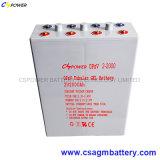 батарея 2V600ah трубчатая Opzv для солнечной силы телекоммуникаций