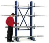 Cantilever Racking para mercadorias compridas