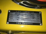 Umschaltbares Benzin-Bodenschmutz-Platten-Verdichtungsgerät STP125