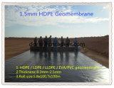 HDPE Waterdichte Geomembrane voor het Ondergrondse Waterdichte Membraan van de Stortplaats