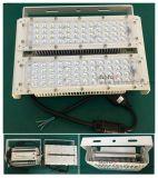 60 90 120 Grau com Au EU Us UK Plug White Housing Lamp Corpo LED Flood Light 100W