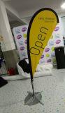 Bandeira personalizada do vôo da pena da praia do Teardrop de Pólo da fibra de vidro (SU-FG32)